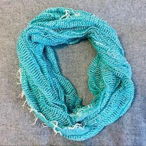 Mint infinity scarf